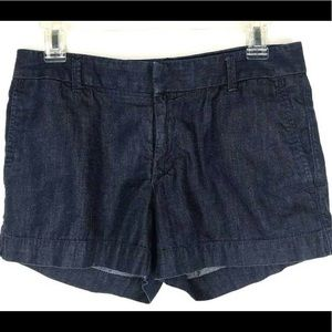 Banana Republic Hampton Fit blue jean shorts